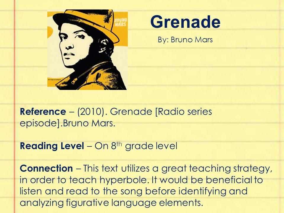 Bruno Mars Review >> Figurative Language Text Set Kimberly Lyon Education 442 Dr. Reinhardt - ppt download